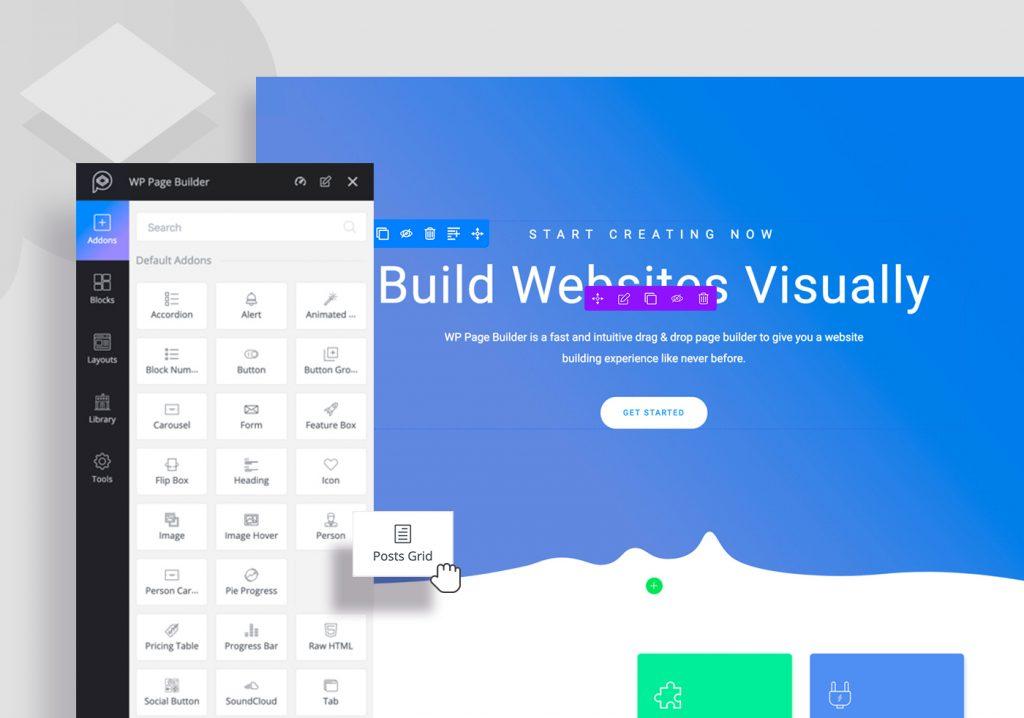 Primer kako rade Page Builder programi